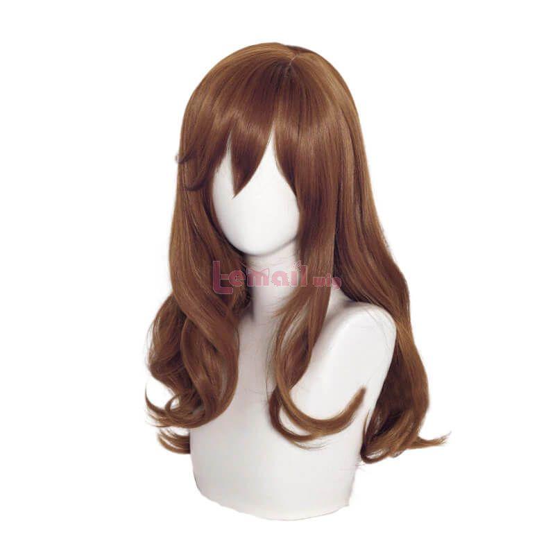 Horimiya Kyouko Hori Long Curly Brown Cosplay Wigs