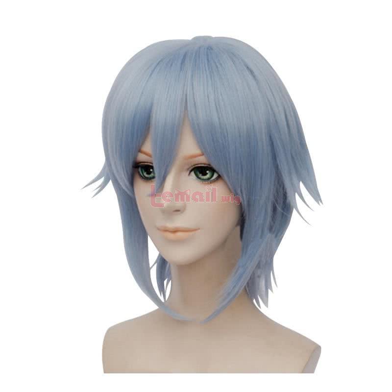 Idolish7 Yotsuba Tamaki Short Straight Blue Men Cosplay Wigs