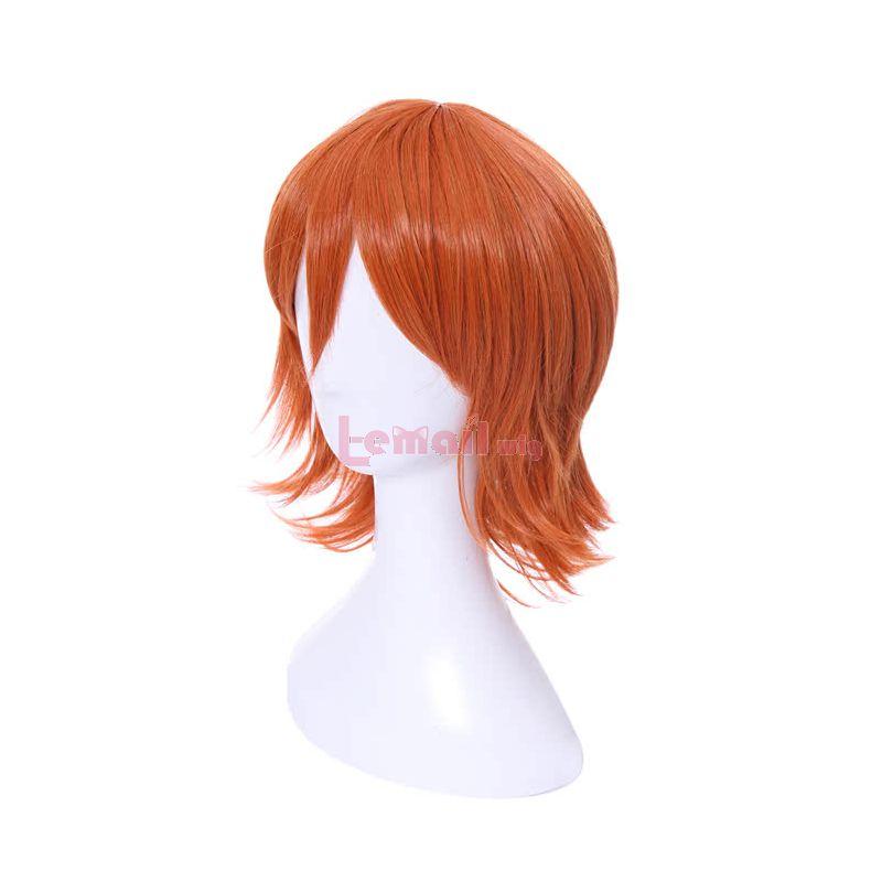 Medium Long Nami Orange Cosplay Wig