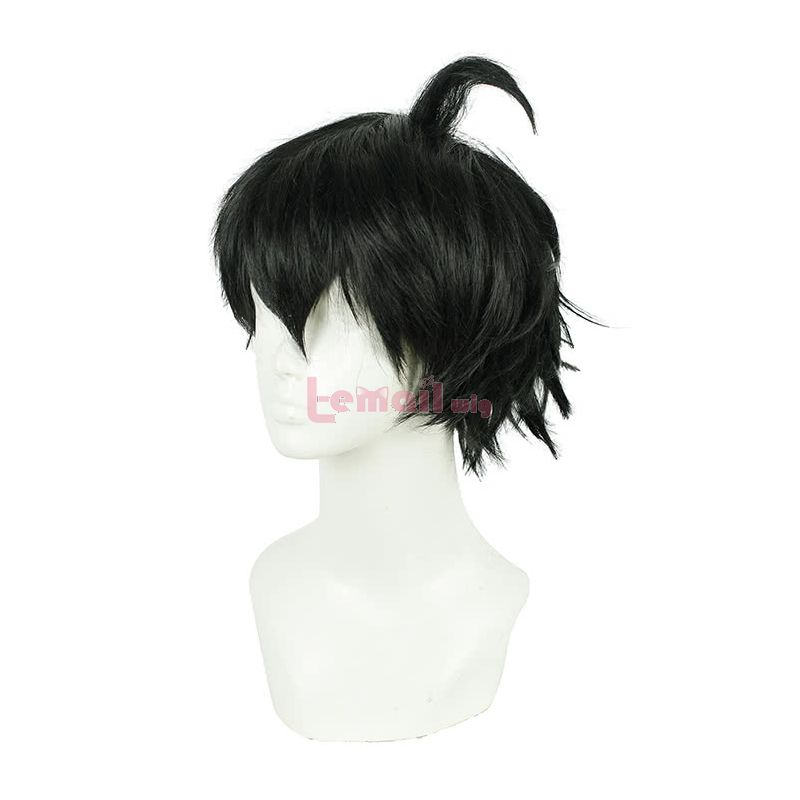Seraph Of The End Yuichiro Hyakuya Short Black Cosplay Wig
