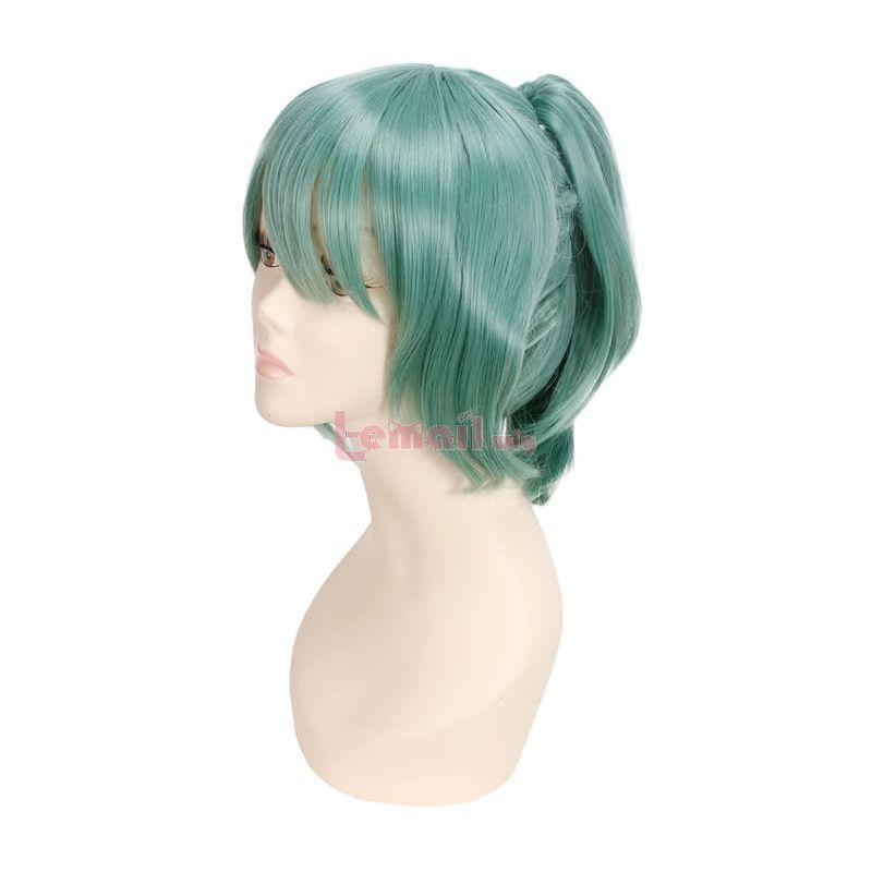 Kantai collection KanColle Kongou Long Dark Brown Anime Cosplay Wig+Free Wig Cap