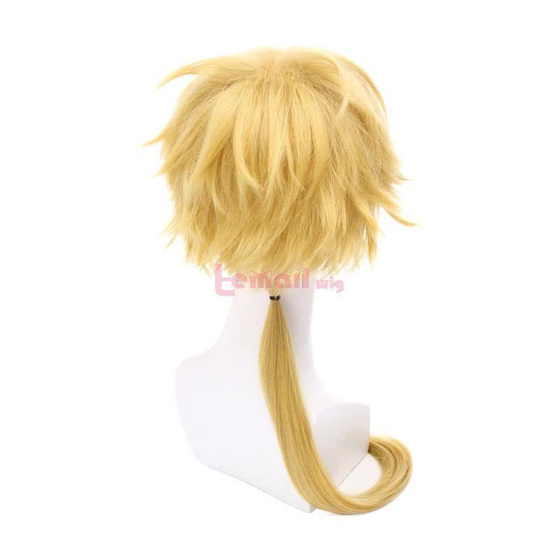 50cm Golden Kunikida Long Bungo Stray Dogs Cosplay Wigs