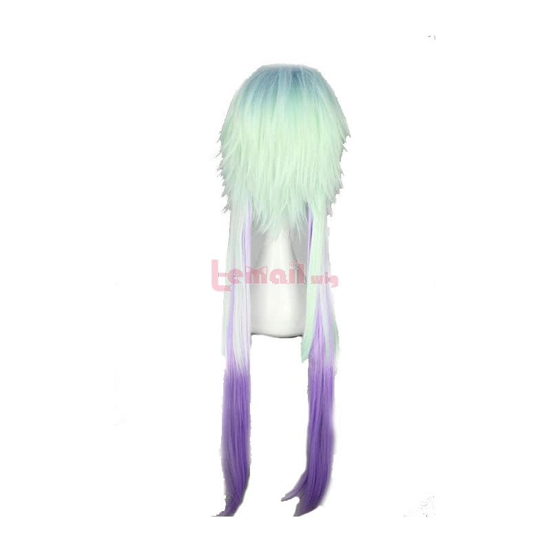 78cm Long Devils and Realist Sitri Mixed Colour Cosplay Wigs