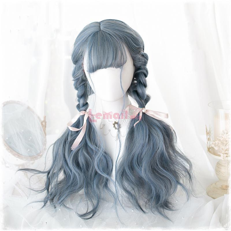 sweet lolita wigs blue
