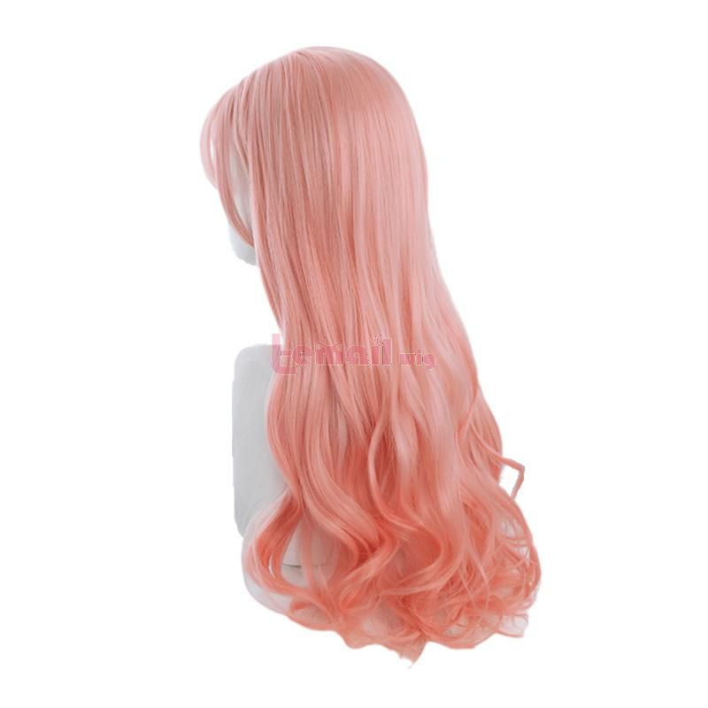 Harajuku Kawaii Loose Wave Wig Long Gradient Pink Lolita Wigs