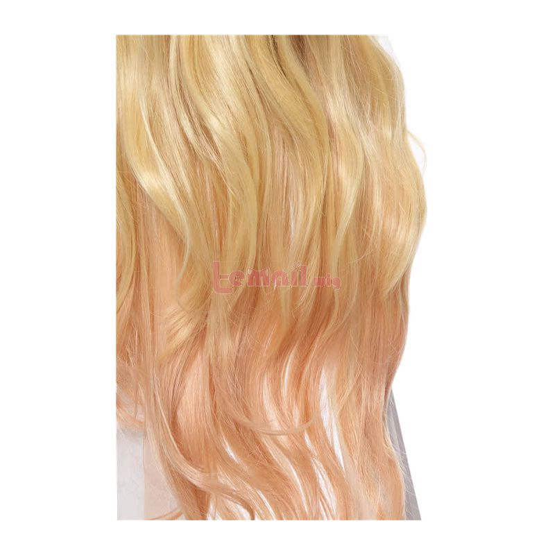 Anime Eromanga Sensei Elf Yamada Long Blonde Women Cosplay Wigs