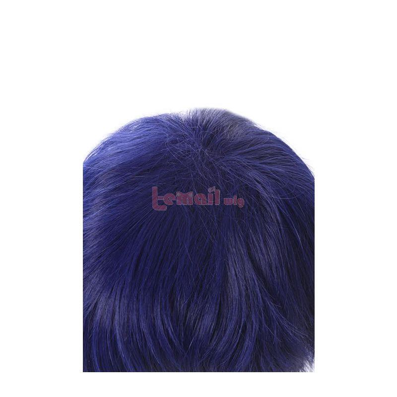 My Hero Academia Tenya Iida Synthetic Short Blue Men Cosplay Wigs