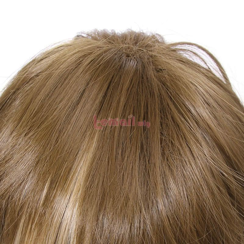 Guilty Crown Shu Ouma Anime Short Brown mixed Blonde Synthetic Men Cosplay Wigs