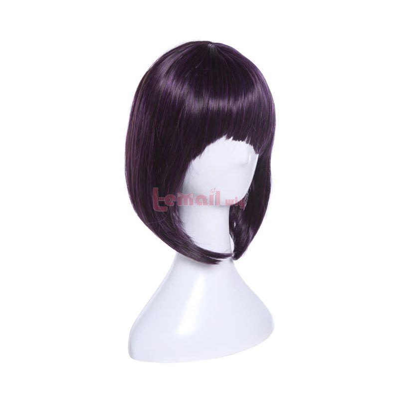 Anime My Hero Academia Kyoka Jiro Purple Short Cosplay Wigs