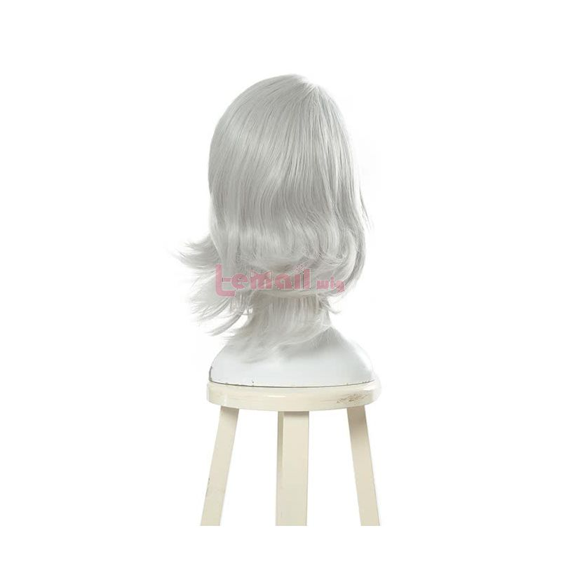 40cm White Tokyo Ghoul JUZO SUZUYA / REI Cosplay Wig