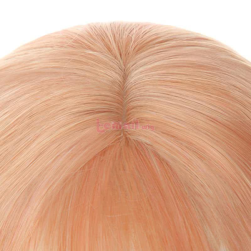 30cm Short Fashion Hair Wigs Light Orange Bob Trendy Wigs For Women