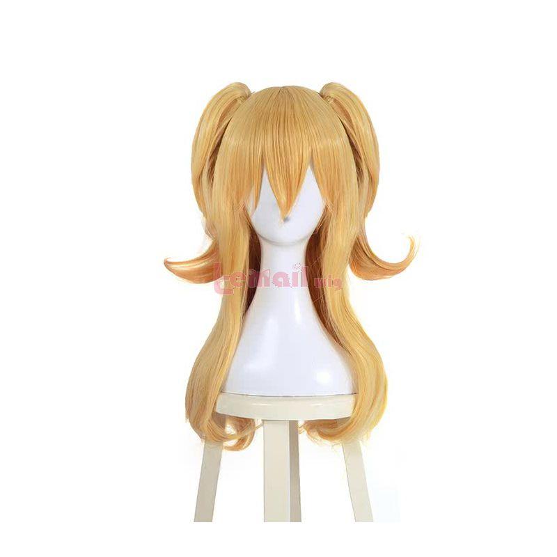Anime Citrus Aihara Yuzu Blonde Ponyhair Cosplay Wigs