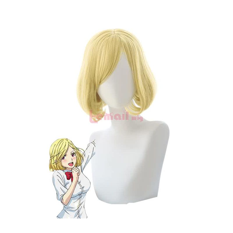 Back Street Girls Short Blonde Mari Cosplay Wigs