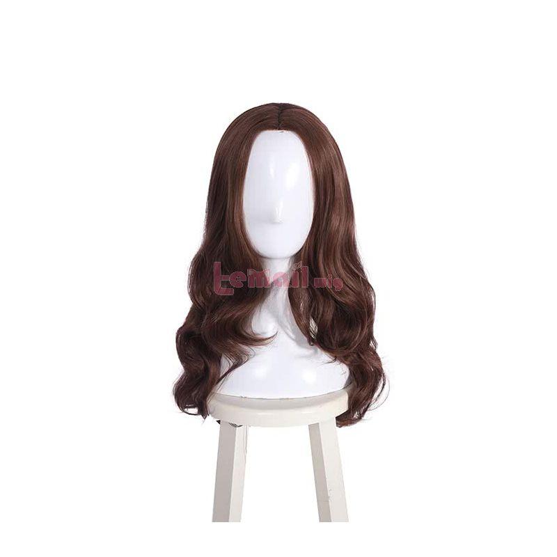 Fashion Women Hair Wig Girls Long Brown Curly Wigs