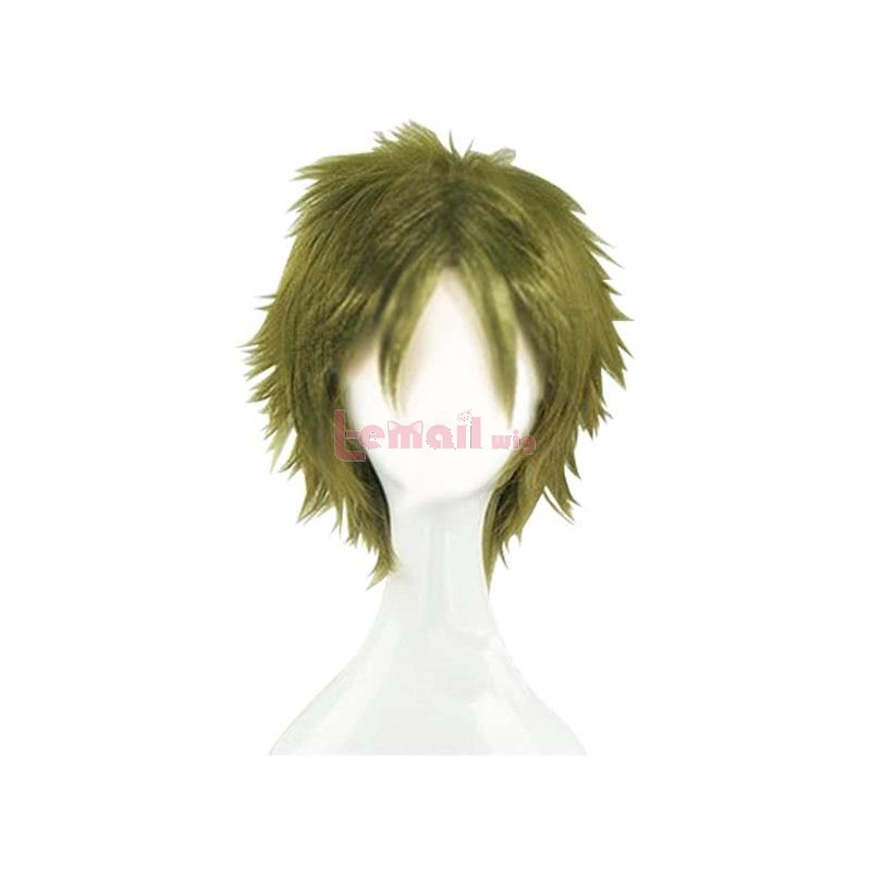 Anime Satsuriku no Tenshi Daniel Dickens Cosplay Wigs Short Green Angels Of Death