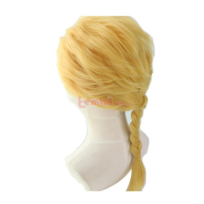 JoJo's Bizarre Adventure Giorno Giovanna Blonde Braid Cosplay Wigs
