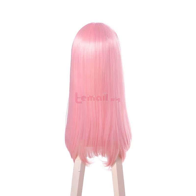 Kaguya-sama wa Kokurasetai: Tensai-tachi no Renai Zunousen Chika Fujiwara Long Pink Cosplay Wig