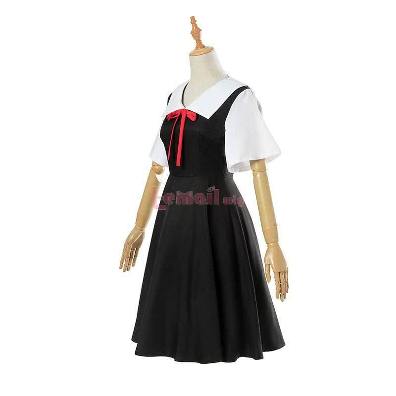 Kaguya-sama wa Kokurasetai: Tensai-tachi no Renai Zunousen Kaguya Shinomiya Short Sleeve Cosplay Costume