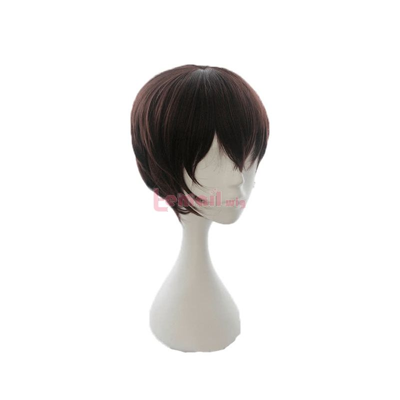 Kakegurui - Compulsive Gambler Ryōta Suzui Short Brown Synthetic Men Cosplay Wigs