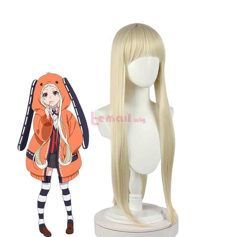 Anime Kakegurui Yomoduki Runa Wigs Cosplay