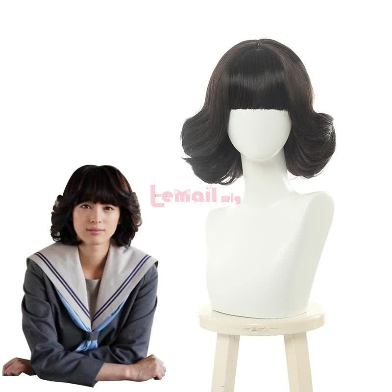 Kyou Kara Ore Wa Riko Akasaka Curly Black Cosplay Wigs