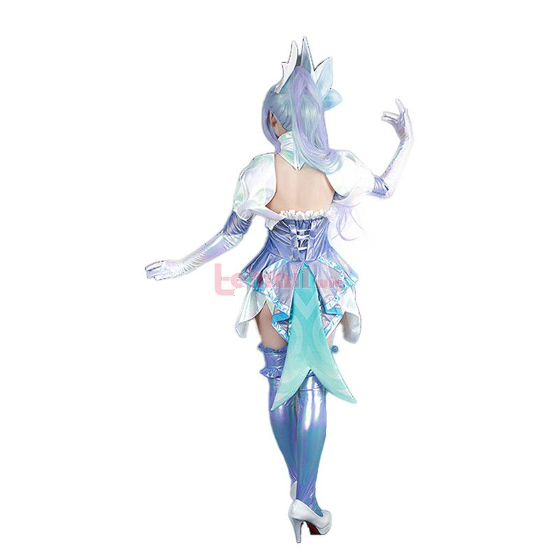 League of legends Crystal Rose Zyra Cosplay Costumes