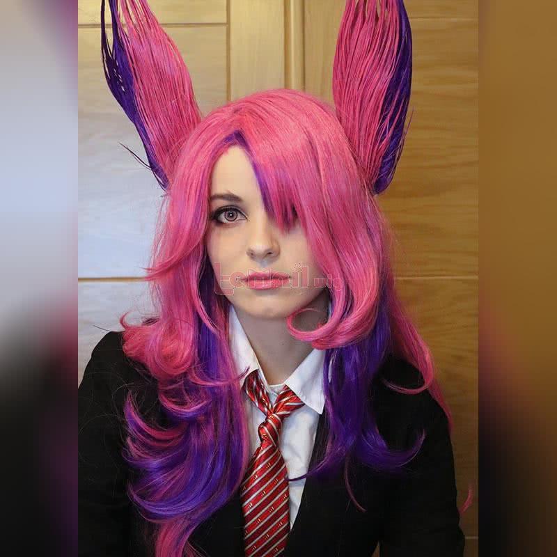 LOL Star Guardians Xayah Cosplay Wigs