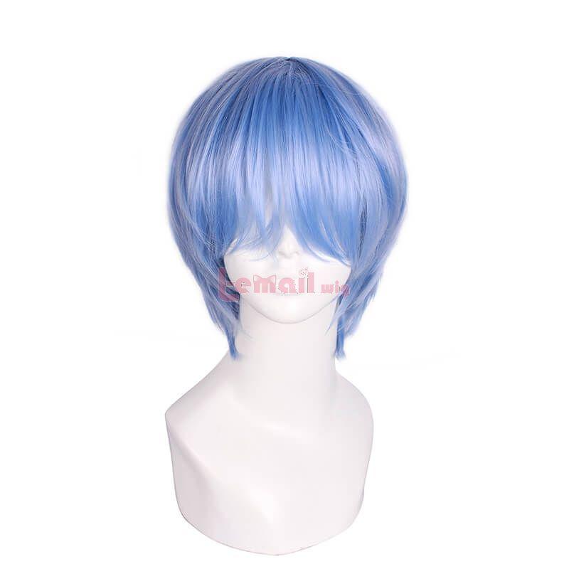 Blue Bob Wigs