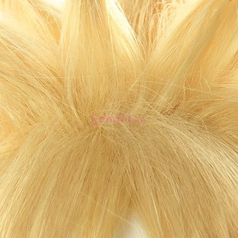 LOL Battle Academy Ezreal Short Straight Blonde Cosplay Wigs