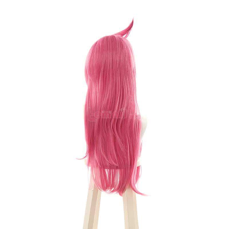 LOL Battle Academy Katarina Pink Long Straight Cosplay Wigs