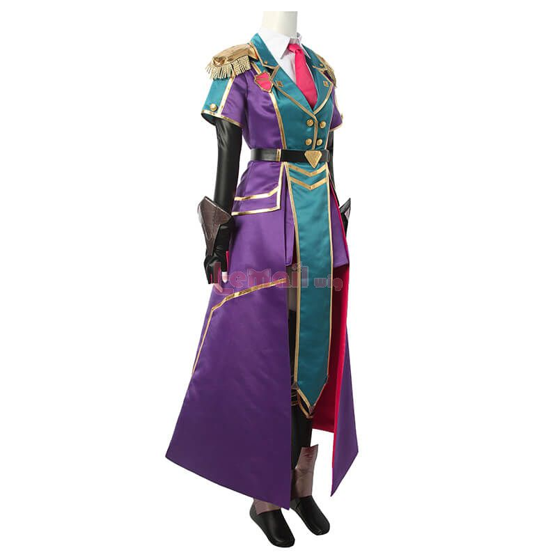 LOL Battle Academy Leona Fullset Cosplay Costume