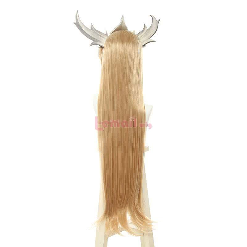 LOL Invictus Gaming World Champion skins Long Straight Blonde Cosplay Wigs