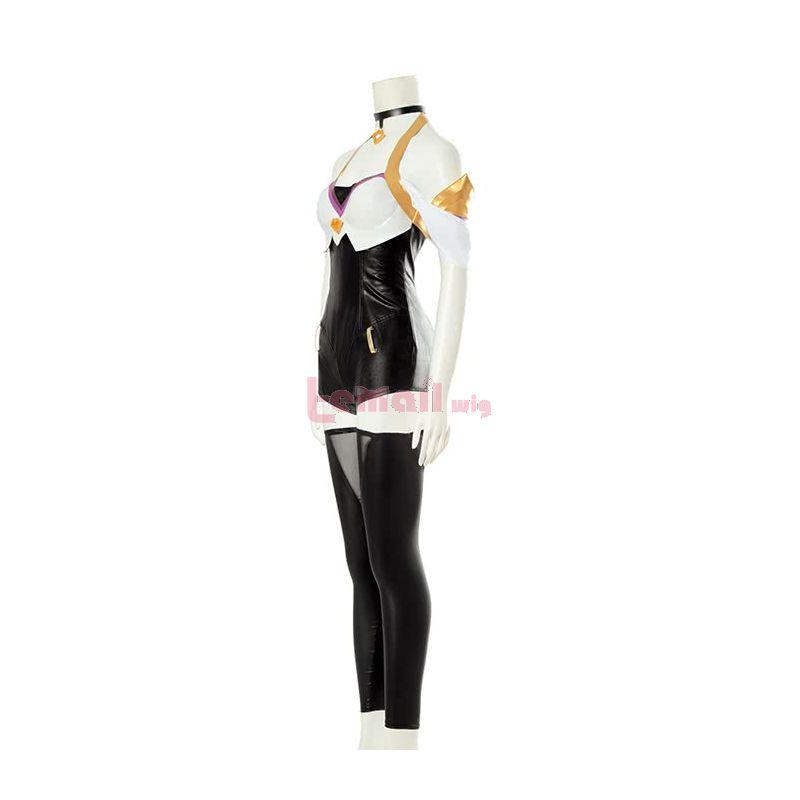 LOL KDA Skin Nine-Tailed Fox Ahri Cosplay Costume