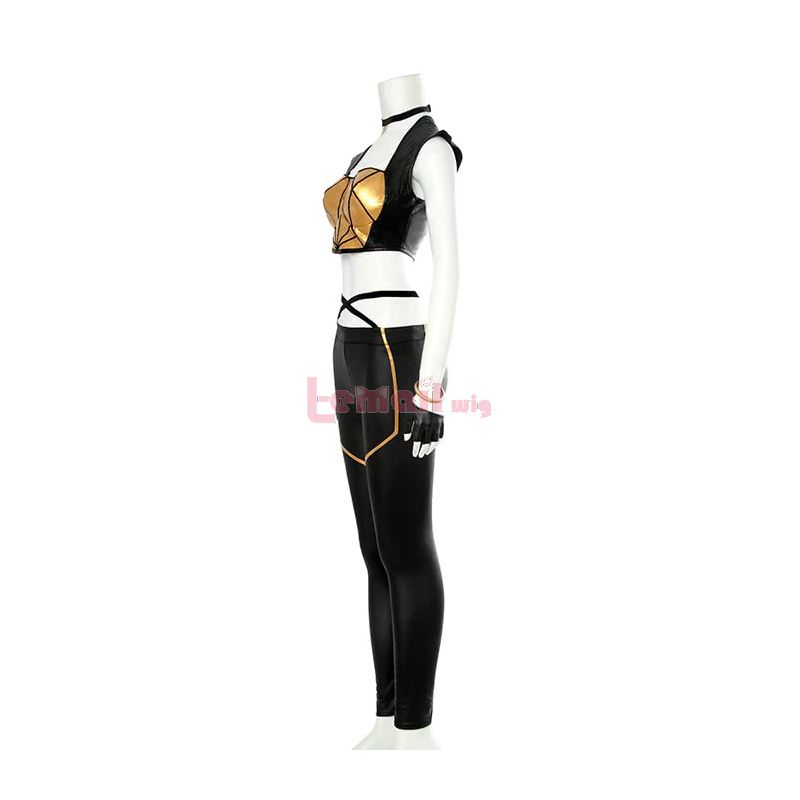 LOL KDA Skin Kaisa Fullsets Outfit Cosplay Costumes