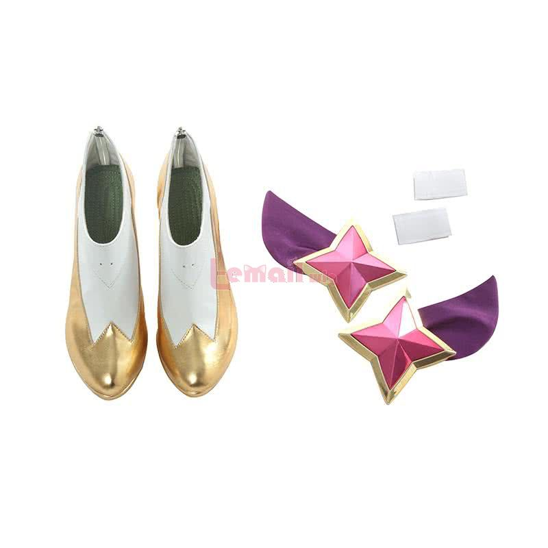 LOL K/DA Skin Nine-Tailed Fox Ahri Cosplay Shoes
