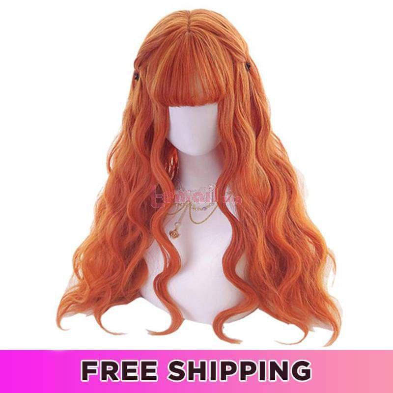 Lolita wigs orange