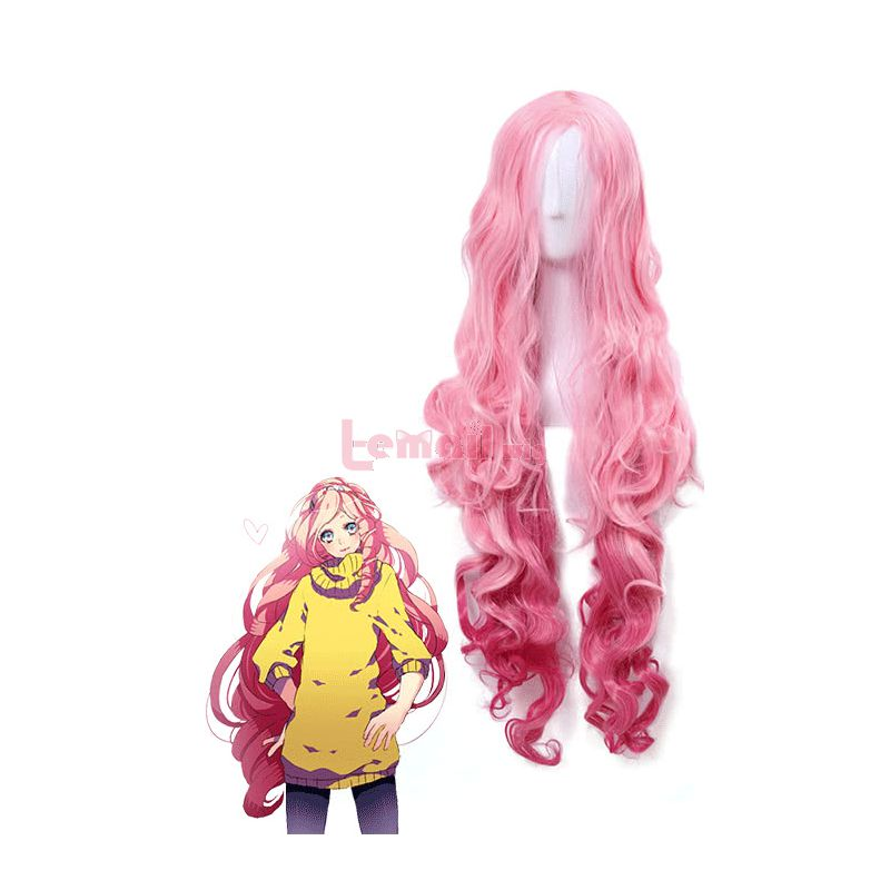 Long Uta no Prince-sama Tsukimiya Ringo Wavy Cosplay Wig