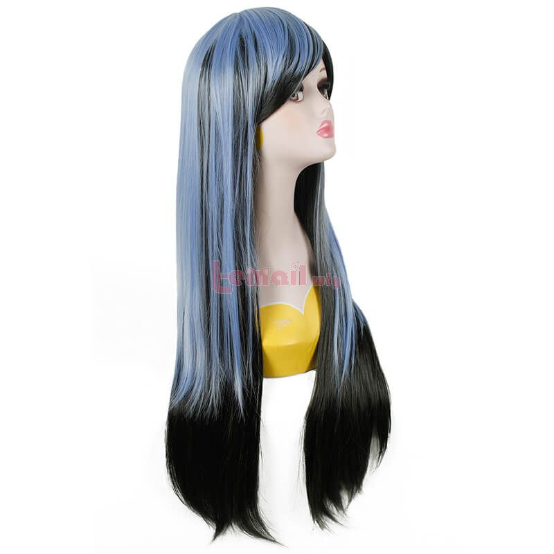 Blue And Black Wigs Cosplay