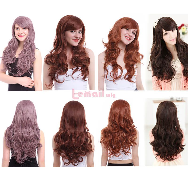 long curly women wigs