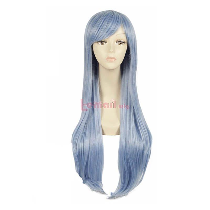 long light blue wigs cosplay