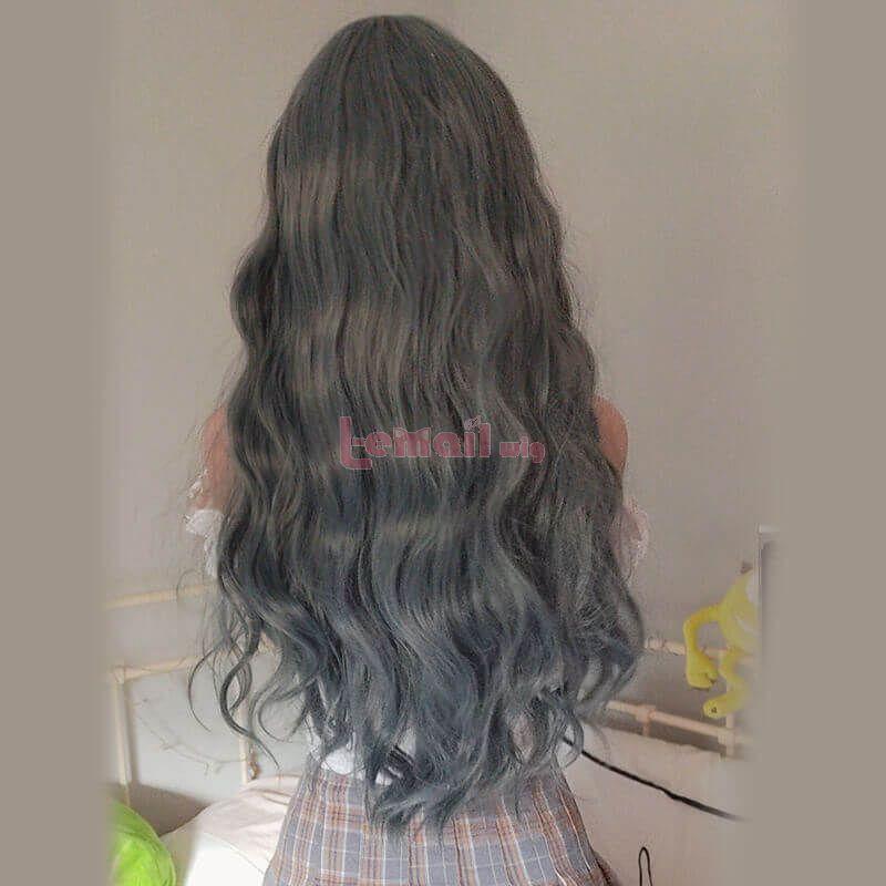 long sweet lolita wigs synthetic