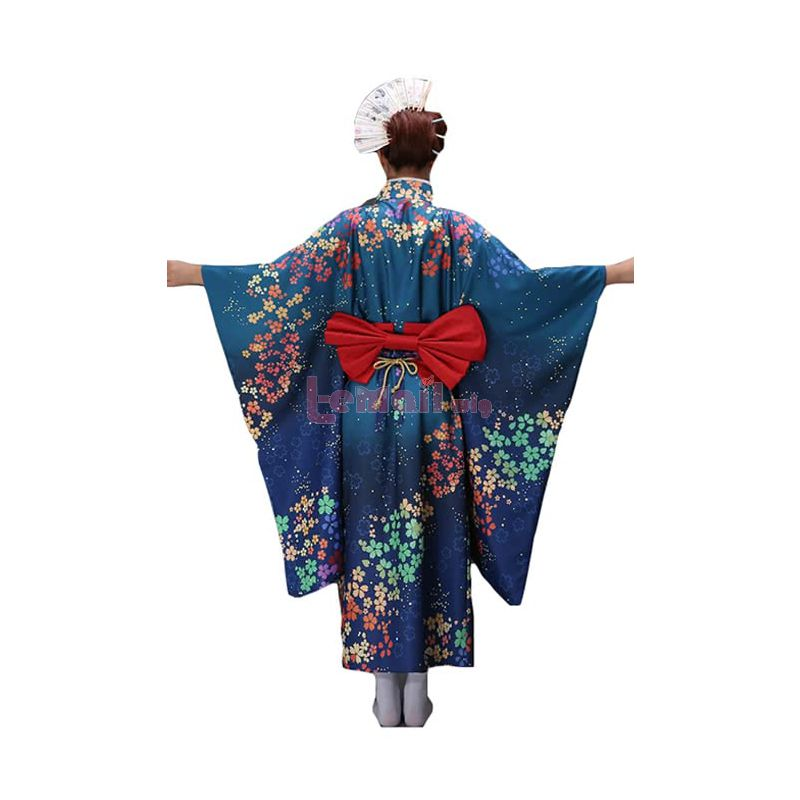 Love Live!Japanese traditional kimono bathrobe Costume