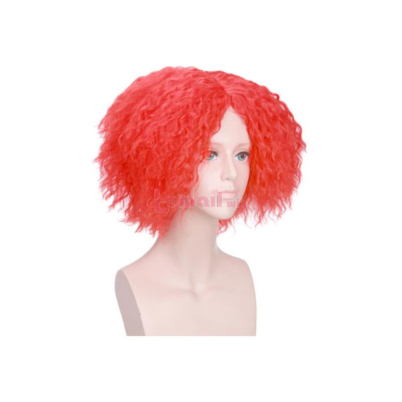 Anime Alice in Wonderland 2 Mad Hatter Cosplay Wigs for Halloween