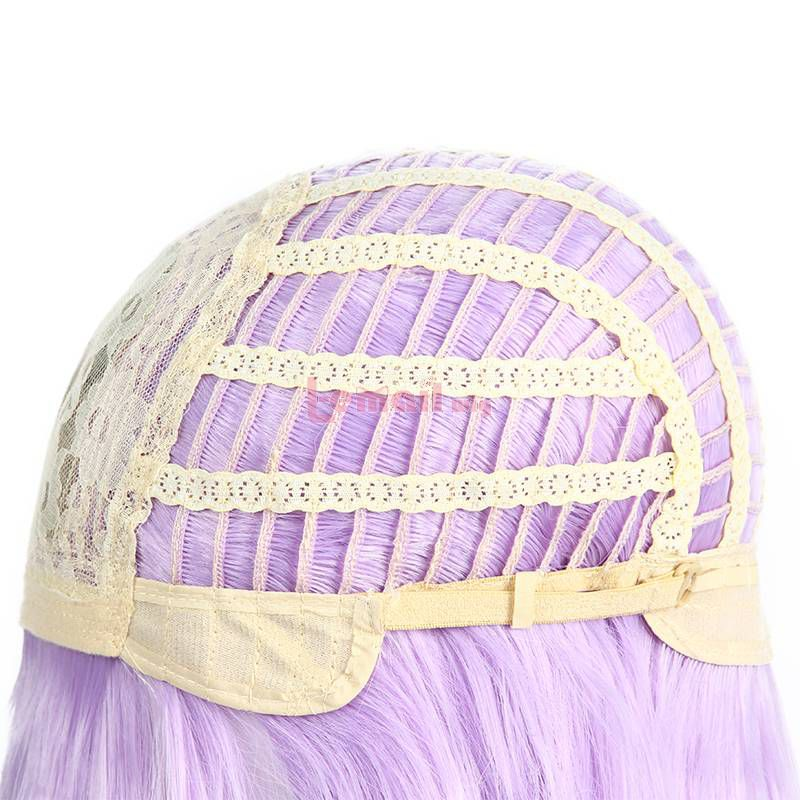 Anime Uma Musume Pretty Derby Mejiro McQueen Long Purple Cosplay Wigs