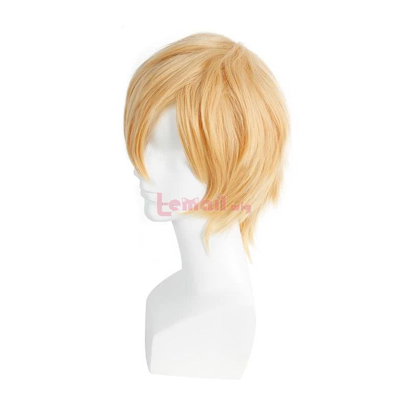 Anime Blend S Dino Blonde Cosplay Wigs