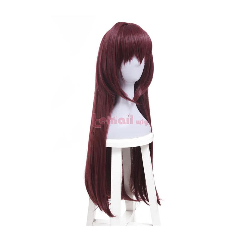 Fate/Grand Order Scathach Long Straight Hair Purple Synthetic Cosplay Wigs
