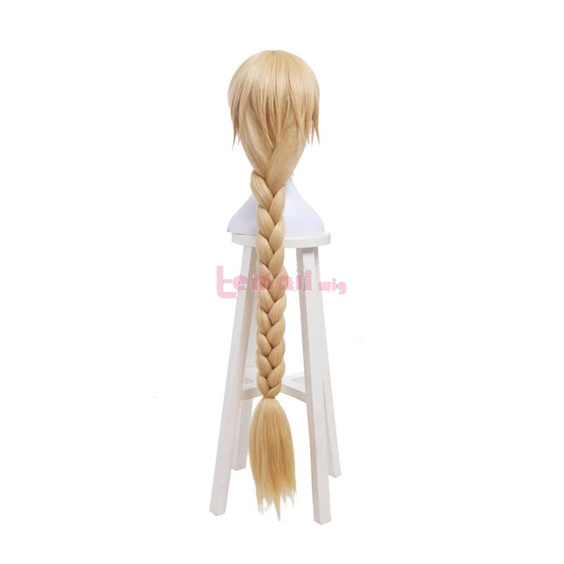 Fate/Grand Order Joan of Arc Braid Blonde Long Synthetic Hair Cosplay Wigs
