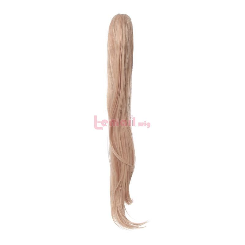 long wigs with ponytail