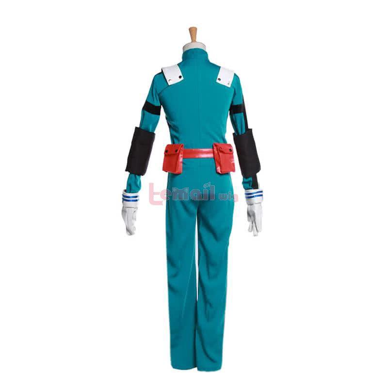 My Hero Academia Izuku Midoriya Second Generation Battle Costume Cosplay Costumes