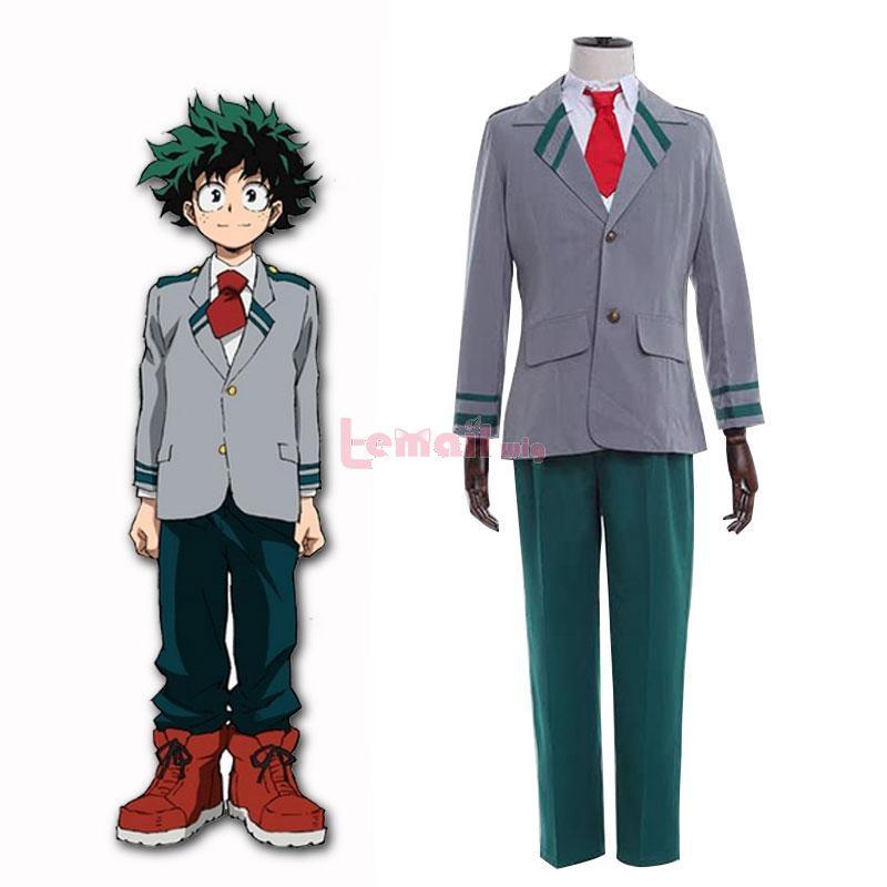 My Hero Academia Midoriya Izuku Men Uniform Cosplay Costumes